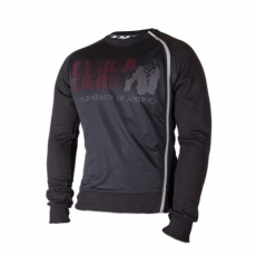 MEMPHIS MESH SWEATSHIRT (BLACK) [XL]