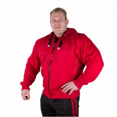 LOGO HOODED JACKET (TANGO RED) [XXL]