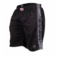 TRACK SHORTS (BLACK/GREY) [L/XL]