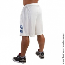 SUPERIOR MESH SHORTS (WHITE) [XXL]