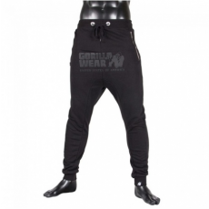 ALABAMA DROP CROTCH JOGGERS - BLACK (BLACK) [XXL]