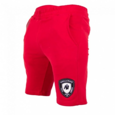 LOS ANGELES SWEAT SHORT (RED) [S]