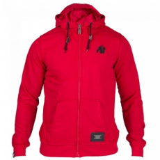 CLASSIC ZIPPED HOODIE RED (RED) [S]