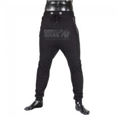 ALABAMA DROP CROTCH JOGGERS - BLACK (BLACK) [XL]