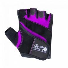 WOMENS FITNESS GLOVES (BLACK/PURPLE) [M]