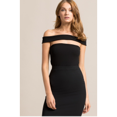 Missguided Body Cut Out Panel Bardot