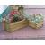 OEM Dekoratív téglalap virágláda - nagy