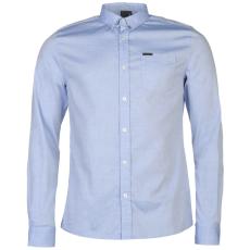 Firetrap Blackseal Basic Oxford férfi ing kék S