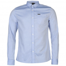 Firetrap Blackseal Basic Oxford férfi ing kék XL