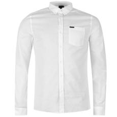 Firetrap Blackseal Basic Oxford férfi ing fehér XL