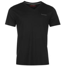 Pierre Cardin Cardin férfi V nyakú póló fekete XS