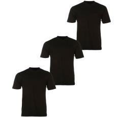 Donnay Three Pack férfi V nyakú póló fekete XS