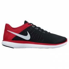 Nike Flex 2016 férfi futócipő, Black/University Red, 43 (830369-006-9.5)