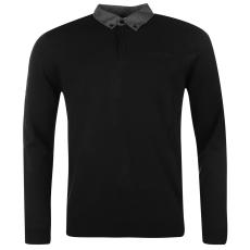 Pierre Cardin Collar férfi kötött pulóver fekete S