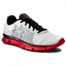 Under Armour Cipők UNDER ARMOUR - Ua Micro G Speed Swift 1266208-100 Wht/Rtr/Blk