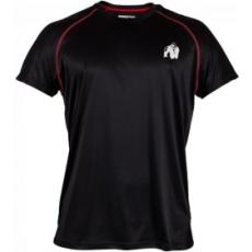 Gorilla Wear Performance póló (fekete-piros) (1 db)