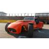 NagyNap.hu Lotus Super Seven vezetés DRX Ring 2 kör