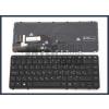 HP Elitebook 740 G1 trackpointtal (pointer) háttérvilágítással (backlit) fekete magyar (HU) laptop/notebook billentyűzet