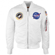 Alpha Industries MA-1 VF NASA - fehér