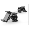Univerzális kerékpárra szerelhető telefontartó - fekete