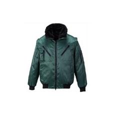 (PJ10) Pilóta kabát zöld