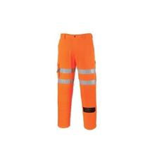 (RT46) Vasúti combat  derekas nadrág  hosszított narancs