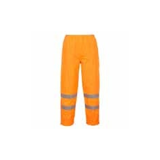 (S487) Jól láthatósági vízálló nadrág Class 3 narancs