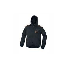 (EMERTON) Kapucnis pulóver fekete