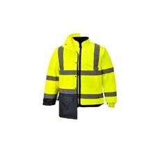 (S768) Executive 5 az 1-ben kabát sárga/fekete