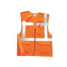 (RT26) Executive vasúti mellény GO/RT narancs