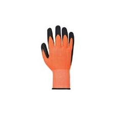 (A625) Láthatósági vágásbiztos kesztyű Cut 5 -PU narancs