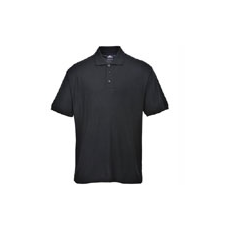 (B210) Nápoly teniszpóló fekete