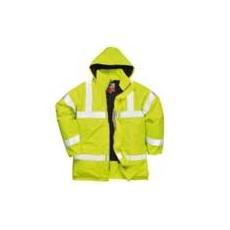 (S778) Antisztatikus és lángmentes lélegző kabát sárga