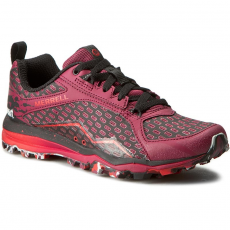 Merrell Bakancs MERRELL - All Out Crush Tough Mudder J37404 Beet Red