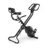 Capital Sports CAPITAL SPORTS Azura X1 X-bike szobakerékpér, max. 120 kg, pulzusmérő, összecsukható, 4 kg, fekete