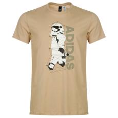Adidas Star Wars férfi póló fehér S