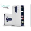 Nillkin LG V10 H960A hátlap képernyővédő fóliával - Nillkin Frosted Shield - fehér
