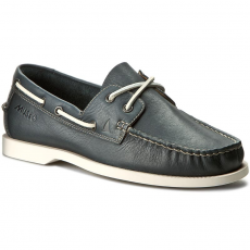 Clarks Mokaszin CLARKS - Nautic Bay 203587927 Navy Leather