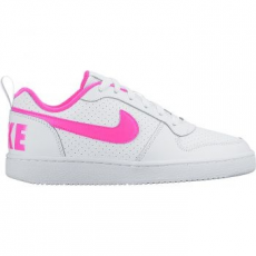 Nike Recreation Low gyerek sportcipő, White/Pink Blast, 35.5 (845104-100-3.5y)