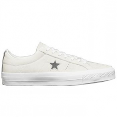 Converse One Star Ox Leather Unisex tornacipő, Thunder/White, 39.5 (153991C-022-6.5)
