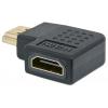 MANHATTAN HDMI - HDMI adapter, F/M, jobb 90°, MANHATTAN