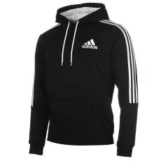 Adidas 3S Logo férfi kapucnis pulóver fekete M
