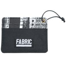 Fabric Graffiti Card Holder pénztárca szürke