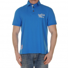 SoulCal Pomona Shirt férfi galléros póló kék 3XL
