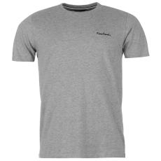 Pierre Cardin Cardin Plain férfi póló szürke 3XL
