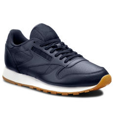 Reebok Sportcipő Reebok - Cl Leather PG BD1641 Collegiate Navy/White/Gum