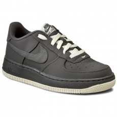 Nike Cipők NIKE - Air Force 1 (GS) 596728 030 Dark Grey/Dark Grey/Sail