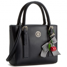 Tommy Hilfiger Táska TOMMY HILFIGER - Cherry Small Tote AW0AW03819 902