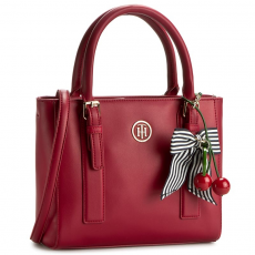 Tommy Hilfiger Táska TOMMY HILFIGER - Cherry Small Tote AW0AW03819 904
