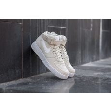 Nike Air Force 1 Mid ´07 Light Bone/ White-White